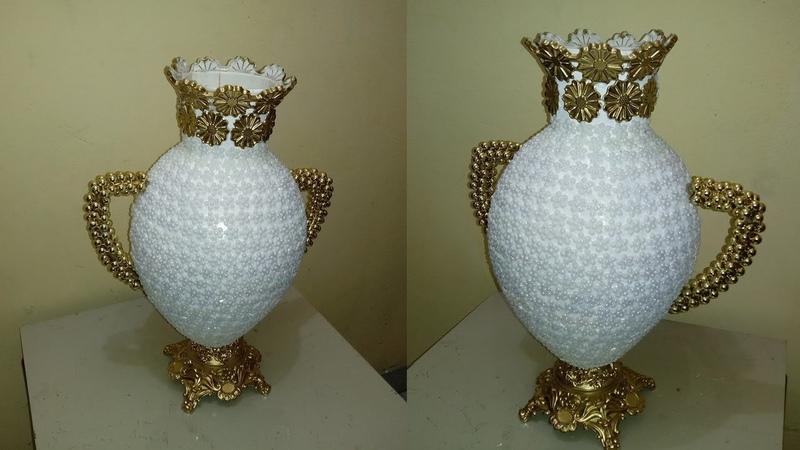 Florero elegante fácil y decorativo Easy decorative and elegant flower