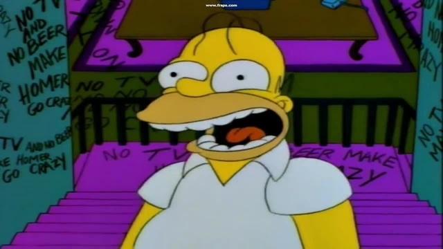 The Simpsons-Homer scream