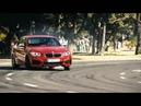 Flashmob der besonderen Art 5 nagelneue BMW M235i treffen sich am Kreisverkehr und driften