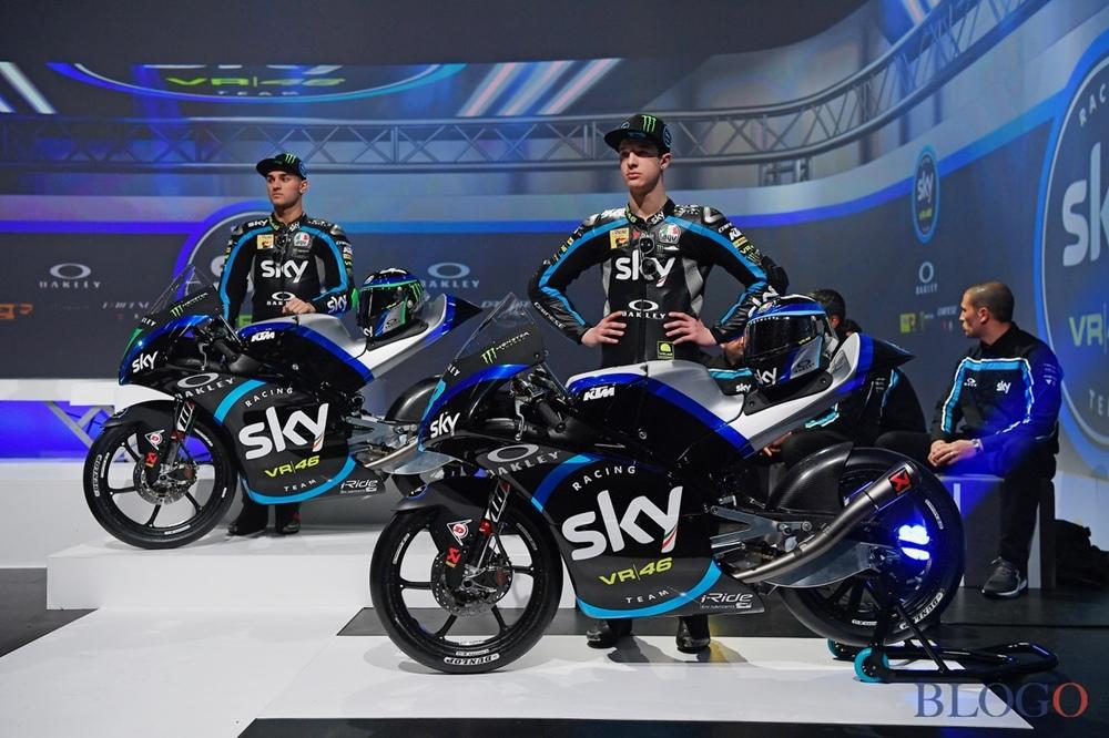 Презентация команды Sky Racing VR46 2019