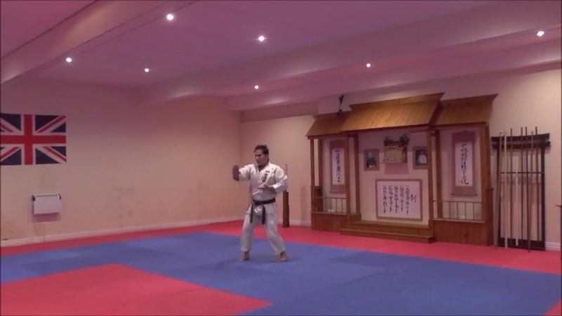Hyakuhachiho kata by SKIF Sensei Katsu TJ-Shuhari Shotokan Karate Association