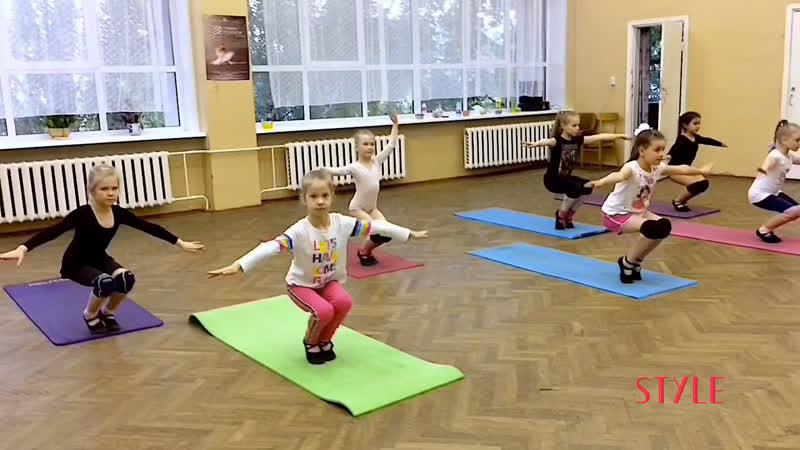 Студия Style,от 2,5 лет.Новополоцк. Хореограф Александра Аксенова