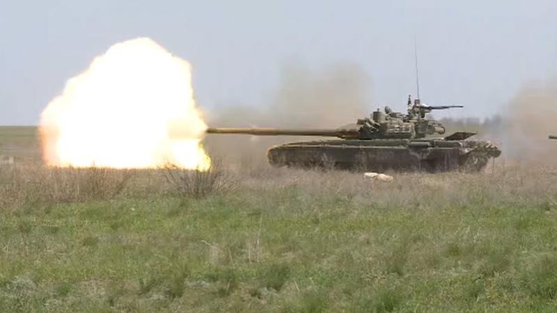 Морская пехота и танковый биатлон как в ЮВО продолжаются военные учения