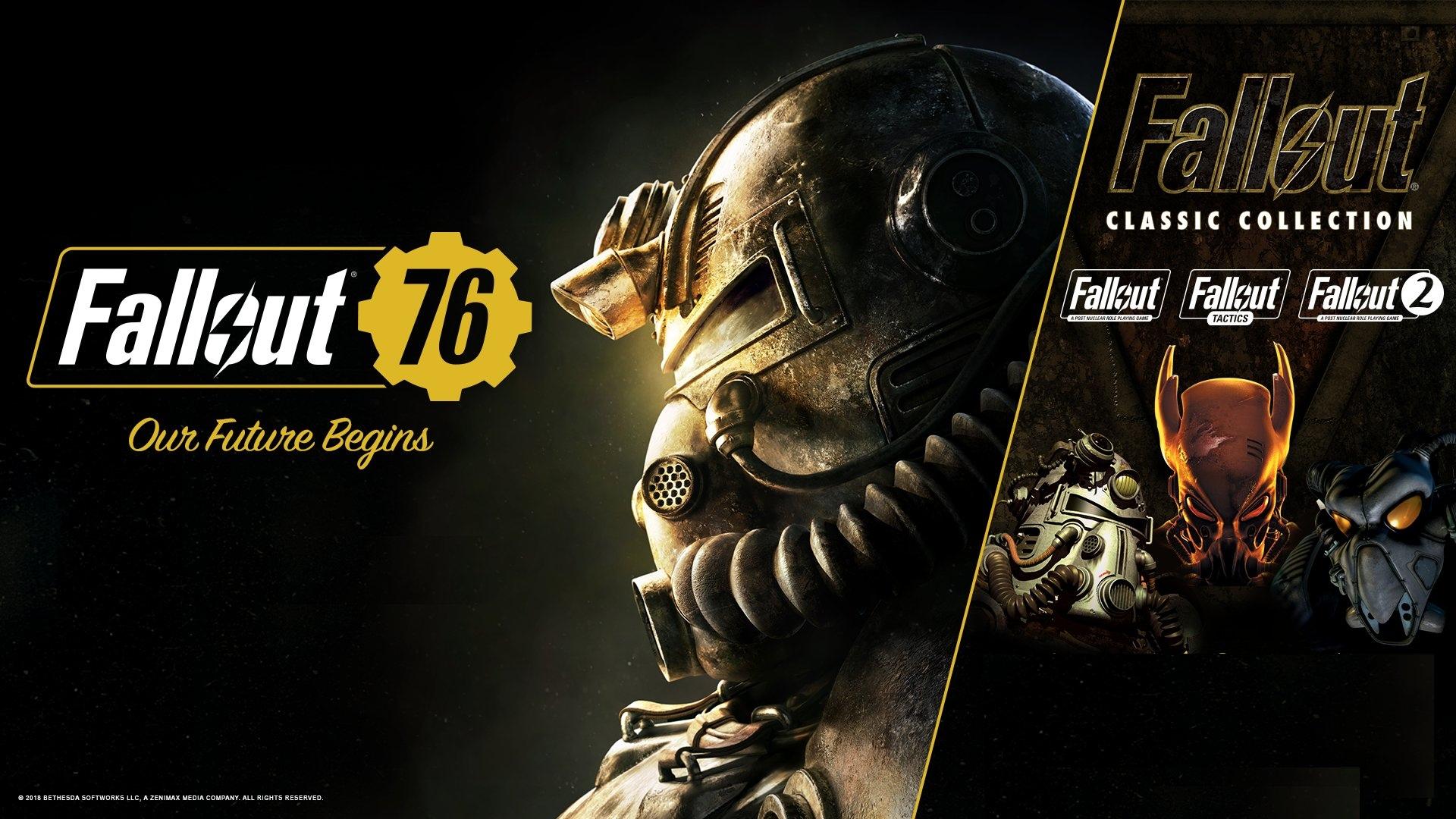 Все владельцы Fallout76 (запустившие игру хоть раз в 2018) получат Fallout Classic Collection в подарок уже в январе.