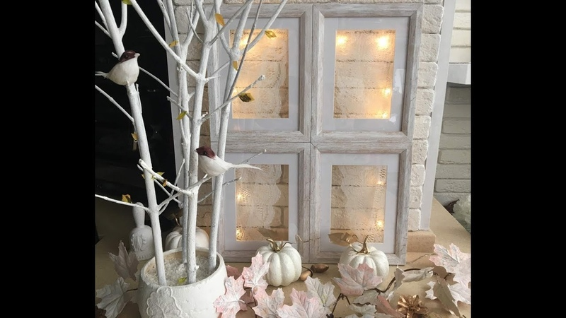 DIY-окно из фото рамок🖼window of photo frames. home decor.