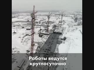Строительство президентского кадетского училища