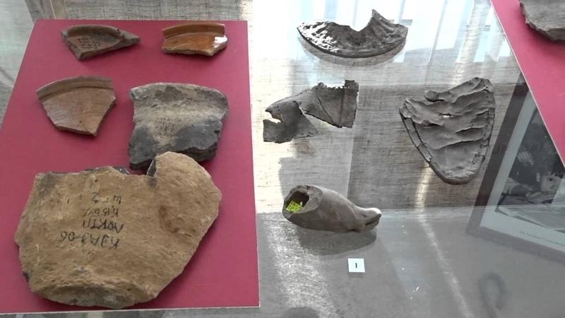минивыставка к юбилею омского археолога Л.В. Татауровой
