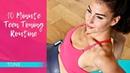 10-минутная тонусная тренировка для подростков. TEENS 10 Minute Teen Toning Routine Workout