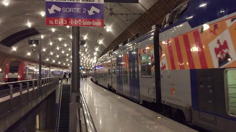 Железнодорожная станция Монако 🇲🇨