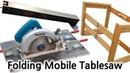 접이식 테이블쏘 만들기(Make a folding mobile tablesaw fence)