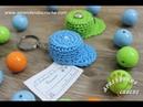 Lembrancinha Chá de Bebê - Mini Boné em Crochê