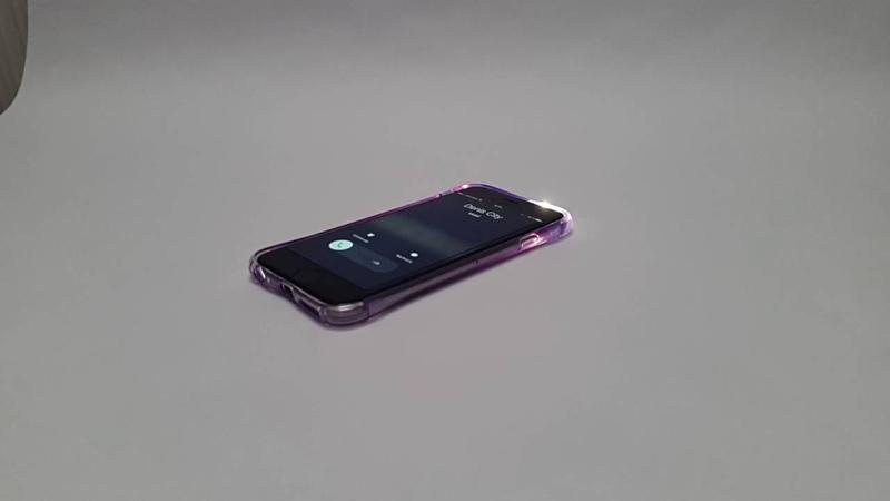 Чехол для Samsung s7 ТПУ с индикацией вызова