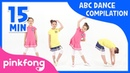 Let's Dance ABC! | ABC Song | Compilation | Pinkfong Songs for Children