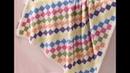 Baby Blanket Entrelac - Veronika Hug