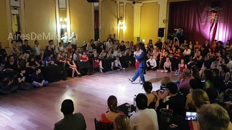 Milonga en la noche, Sebastián Arce, Noelia Hurtado. Festival Tango Salón
