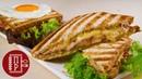 Быстрый Завтрак для Любимых! Французские Сэндвичи Крок- Месье и Крок- Мадам / Croque- Monsieur