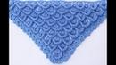 3D crochet stitch for shawl crochet majovelcrochet