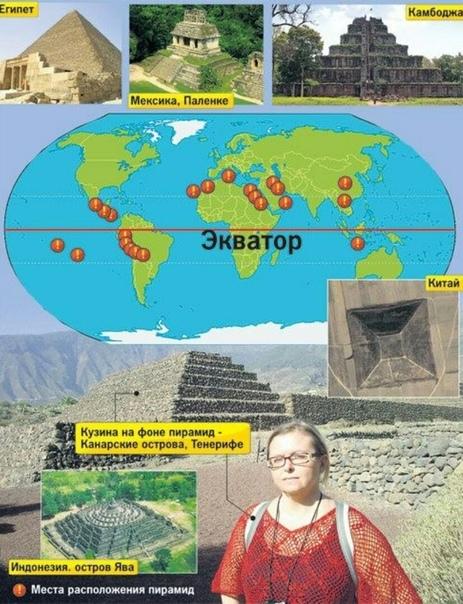 Землю опоясывают сотни пирамид. Зачем
