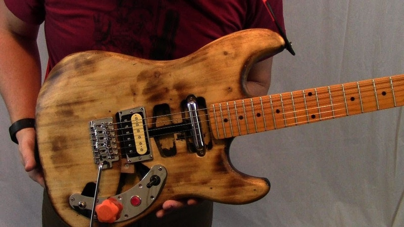 Heavily Modified Electric Guitar