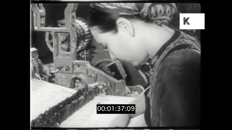Factories Industry in 1960s Turkmenistan, HD from 16mm