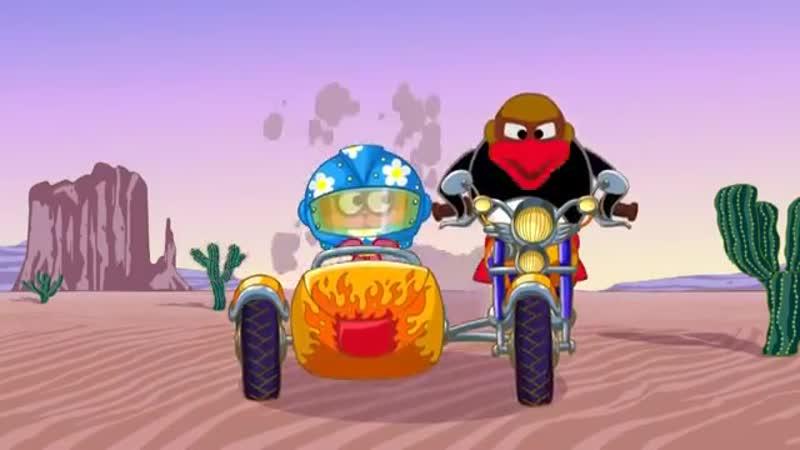 Мотоциклетные правила Азбука безопасности Смешарики