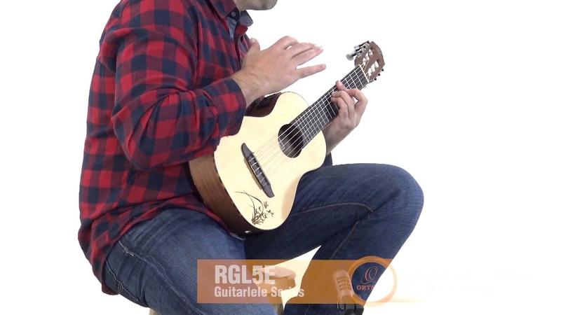 Ortega Guitars   RGL5E - Guitarlele Series