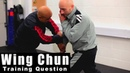Wing Chun training wing chun weapon how to deal with body stab Q93