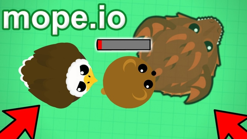 Mope.io The Food Chain In Action... Zombie Infection Gameplay! (Mope.io New Beta Update)