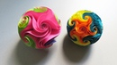 Twirl star ball (EzyCraft) - How to make a ball of starfish and star rose - EzyCraft