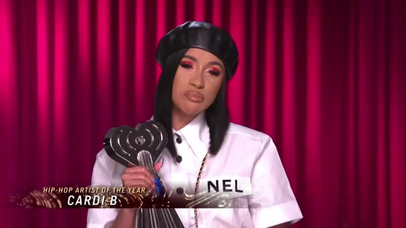 Cardi B Acceptance Speech - Hip Hop Artist of the Year ¦ 2019 iHeartRadio Music Awards