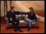 George Michael German interview 1988 (about Australian tour with a battery between eyes)