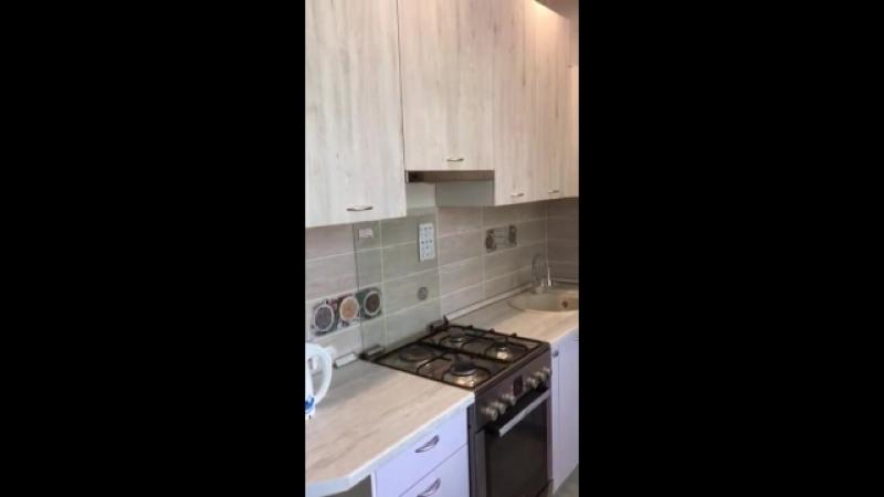 видео установленной кухни от клиентов
