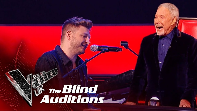 Sir Tom Jones Peter Donegan's 'I'll Never Fall In Love Again' Blind Auditions The Voice UK 2019
