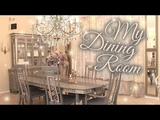Dining Room Tour &amp Transformation - Beauty and the Beast Inspired - Renter-Friendly