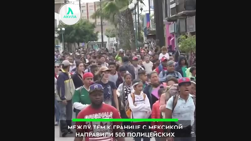 4000 мигрантов идут в США | АКУЛА