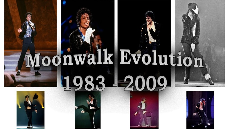 Michael Jackson - Moonwalk Evolution [1983 - 2009]