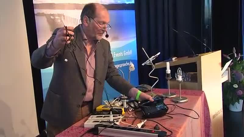 5G Kongress-Wolfgang Jogschies - Was tun bei 5G- Mobilfunk und WLAN-Strahlung-
