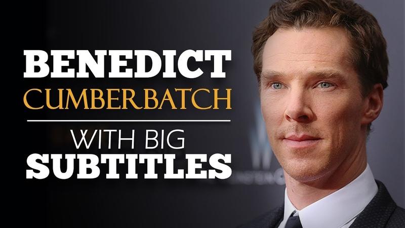 ENGLISH SPEECH | BENEDICT CUMBERBATCH : Just Do It! (English Subtitles)