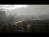 Первый снег в Перми