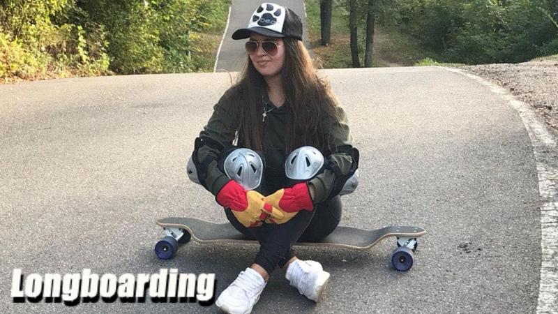 Longboarding Downhill Girl / Лонгборд девушка — Уфа