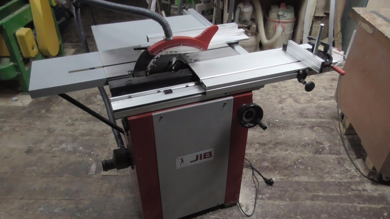 №1 Обзор и тест циркулярки с кареткой JIB MJ10 700