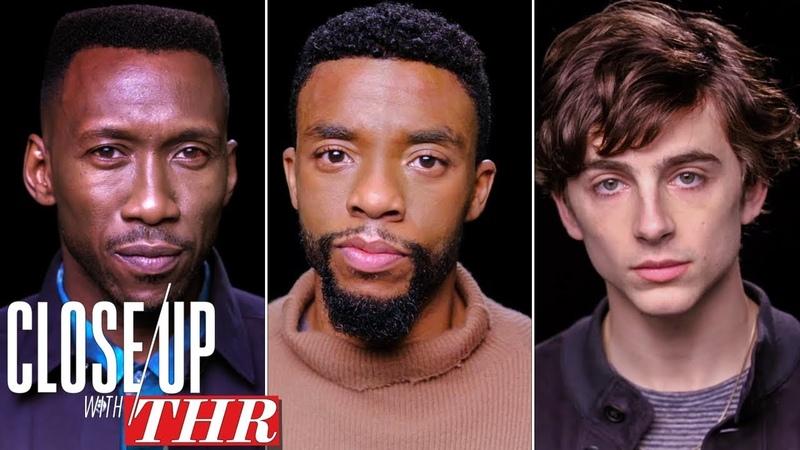Actors Roundtable Chadwick Boseman Timothée Chalamet Mahershala Ali Viggo Mortensen Close Up