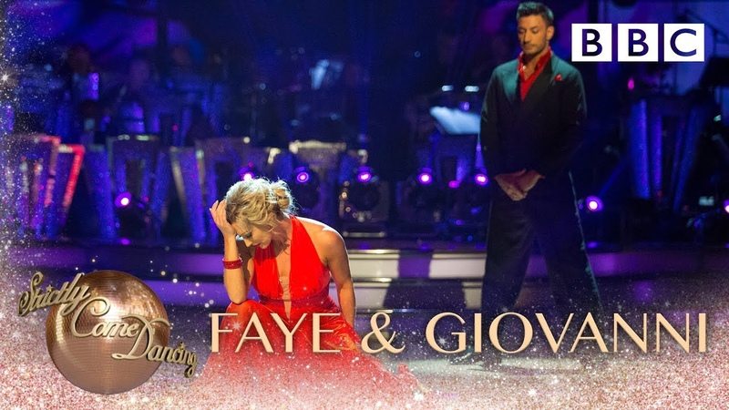 Faye Tozer Giovanni Pernice Viennese Waltz to 'It's A Man's World' BBC Strictly 2018