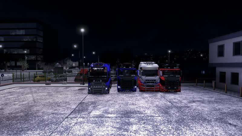 Эх поехали Доставка грузов Euro Truck Simulator 2 TruckersMP 20 01 2019