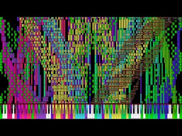 [Black MIDI] Septette for the dead princess 53.52 Million | 5.1 GHz Run