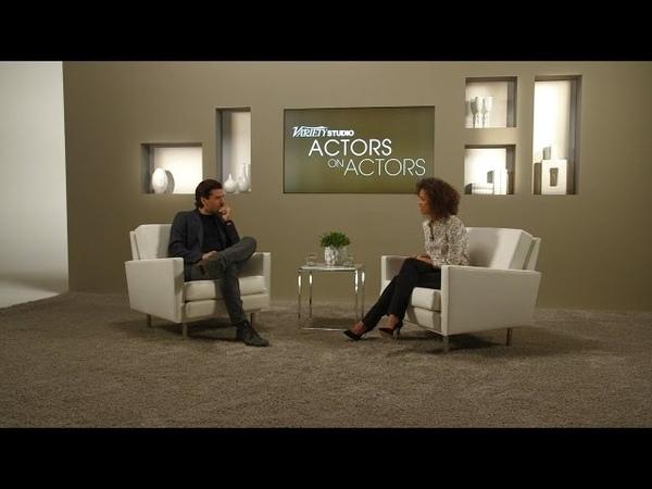 Oscar Isaac Gugu Mbatha-Raw at Variety Studios: Actors on Actors presented by Samsung Galaxy