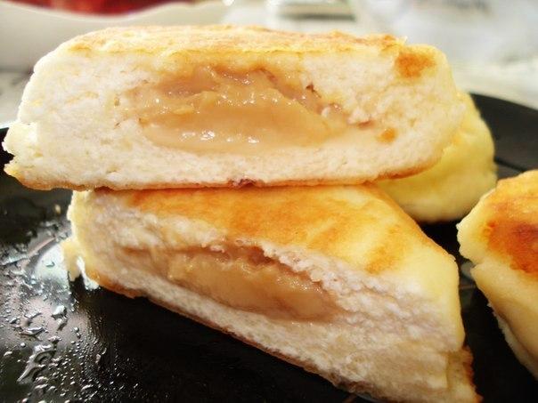 Сырники с вареной сгущенкой на завтрак!