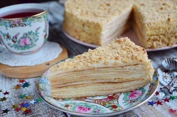 """Лучший рецепт торта """"Наполеон""""!"""