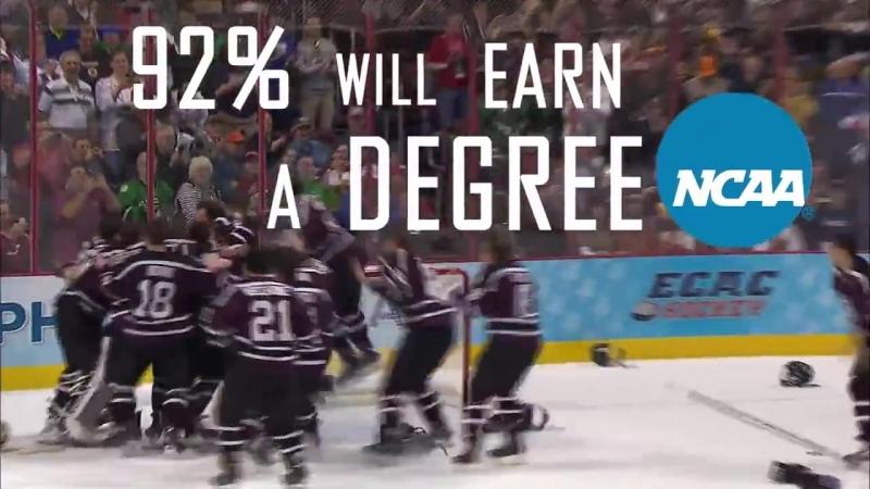 Play NCAA hockey!
