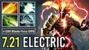 IMBA BUILD Magic Juggernaut Electric Blade Fury vs PA 50 MS Talent Radiance Shiva Build 7 21 Dota 2